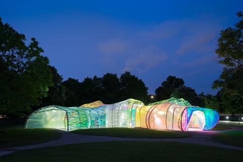 Serpentine Pavilion 2015 by SelgasCano Architects